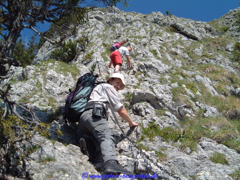 Ettaler Mandl Klettersteig : Peter s bergseiten ettaler manndl