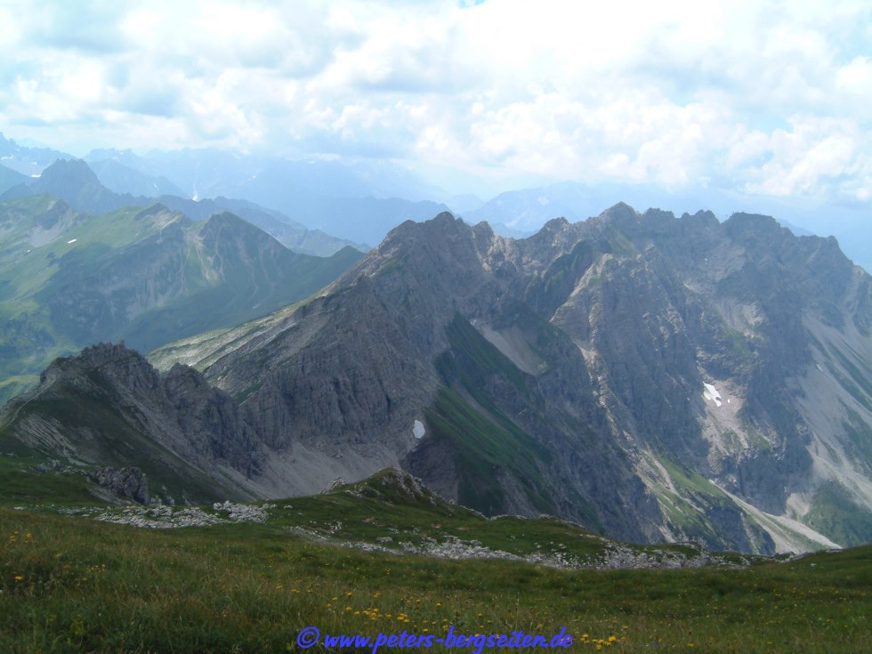 Hindelanger Klettersteig Wengenkopf : Peter s bergseiten hindelanger klettersteig
